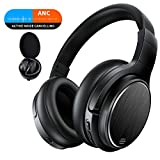 Bluetooth Over Ear Kopfhörer Noise Cancelling Wireless HiFi Bass Stereo 50 Std.Laufzeit Headset für Telefon PC TV Tablets Chaobai