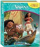 PHIDAL–Vaiana Koffer Buch mit 12Figuren + Spielmatte, 9782764341803, Mehrfarbig