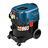 Bosch Professional Nass-/Trockensauger GAS 35 M AFC (3 m Schlauch, Fugendüse, Bodendüsen-Set, Flachfaltenfilter, 1.200 Watt, max. Unterdruck: 254 mbar,...