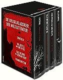 Die Gruselklassiker der Weltliteratur: Frankenstein / Dr. Jekyll und Mr. Hyde /  Dracula / Das Bildnis des Dorian Gray (4 Bände im Schuber)