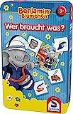 Schmidt Spiele 51408 Benjamin The Elephant 51408-Benjamin Blümchen, blau