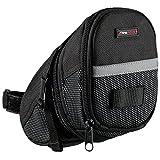 Ultrasport Satteltasche fürs Fahrrad, wasserdicht und kompakt / Fahrradsattelfach mit Stauraum für Fahrradtouren, einfache Befestigung per Klettverschluss,...