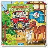 Puzzlebuch 'Auf dem Bauernhof': Mit fünf 9-teiligen Puzzles!