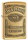 Zippo 1350003 Feuerzeug Jack Daniel's Label Brass
