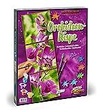 Schipper 609470739 - Malen nach Zahlen - Triptychon-Orchideenrispe, Malset, 120 x 40 cm