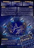 Sternzeichen Zwilling - Die Horoskop- und Charakter-Karte für Liebe, Partnerschaft, Beruf, Finanzen und Gesundheit: Die psychologische Astrologie von ... und Sternen [DIN A4 - zweiseitig, laminiert]