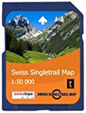 Satmap GPS System Karte 1:50000 Schweiz: Schweizer Mountainbiketouren (Single Trail)
