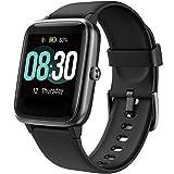 UMIDIGI Uwatch3 Smartwatch Fitness Tracker Herrenuhr 5 ATM wasserdichte Smart Watch Armbanduhr Pulsuhr Schrittzähler mit Herzfrequenz Schlaftracker für Damen...