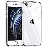 Hülle kompatibel mit iPhone SE 2020 iPhone 8 iPhone 7, Syncwire Transparent Kratzfest Schutzhülle, Anti-Gelb Luftkissen Fallschutz Silikon Handyhülle Case...