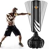Boxsack Standboxsäcke Trainingsgeräte Erwachsene Freistehender Standboxsack, MMA Boxpartner Boxing Trainer Hochleistungs-Boxsack mit Saugfuß, Punchingsäcke...