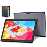 4G LTE Tablet PC 10 Zoll Android 10.0 Tablet LNMBBS, 64GM eMMC,4GB RAM, Quad Core, WiFi/Bluetooth/GPS/OTG (Grau)