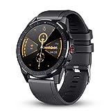 GOKOO Smartwatch Fitness Tracker Herren Männer Sportuhr IP68 Wasserdicht Aktivitätstracker Mit Schrittzähler Schlafmonitor 10 Sportmodi Pulsuhren Stoppuhr...