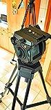 TARION Profi Stativ Kamera Video Stativ 160cm Doppelrohrstativ mit 360° Panorama Videoneiger und Schnellwechselplatte für Sony Panasonic JVC Kameras und...