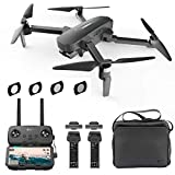 Hubsan Zino Pro Plus 4K-Kamera mit 3-Achsen-kardanischer Faltbarer Drohne 8KM 43 Minuten APP-Steuerung (tragbare Version + ND-Filter)