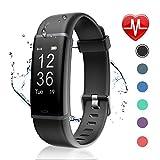 Letsfit Fitness Tracker mit Pulsmesser Fitness Armband Wasserdicht IP67 Schrittzähler Uhr Pulsuhren Smart Armband Uhr Aktivitätstracker mit Schlaf Monitor...