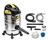 Aschesauger Ashley Kombo 4 in 1 | Staub-, Trocken- und Nasssauger | selbstreinigender Filter dank pneumatischer Rüttelung | By-pass Kühlung