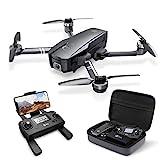 Holy Stone HS720 Faltbare GPS Drohne mit 4K Kamera Full-HD Live Übertragung,RC Quadcopter mit bürstenloser Motor,26 Min. Lange Flugzeit,Follow Me,5G WLAN...