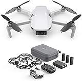 DJI Mavic Mini Fly More Combo (EU) – Drohne und Zubehör Kit, leicht und tragbar, Flugzeit: 30 Min, Übertragungsentfernung: 2 km HD-Videoübertragung,...