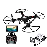 s-idee® 01628 Quadrocopter S303 Wifi HD Kamera FPV Höhenstabilisierung, One Key Return, Coming Home