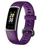 Letsfit Fitness Tracker, Schrittzähler Uhr, Wasserdicht IP68 Aktivitätstracker mit Pulsmesser, Fitness Armband pulsuhr Smartwatch für Kinder Damen Herren iOS...