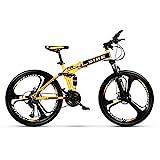 Novokart-faltbares Sport- / Mountainbike/Fitness im Freien/Freizeitradfahren / 26 inches (Zoll 3 Cutter Wheel, gelb