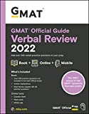 GMAT Official Guide Verbal Review 2022: Book + Online Question Bank