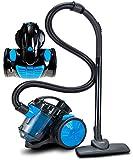 Bodenstaubsauger 700 Watt | HEPA 13 Filter | 2in1 Bodenbürste | 360° Schlauch | Vacuum Cleaner | Staubsauger | Zyklonen Staubsauger beutellos | Beutelloser...