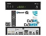 Edision OS NINO+ Full HD Linux E2 Combo-Receiver H.265/HEVC (1x DVB-S2, 1x DVB-T2/C, WLAN onboard, Bluetooth onboard, 2x USB, HDMI, LAN, Linux, Kartenleser)...
