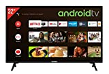 Telefunken XF32AJ600 32 Zoll Fernseher / Android TV (Full HD, Triple-Tuner, Smart TV, Bluetooth) [Modelljahr 2021]