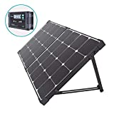 WNTHBJ 100w18v Solarladetasche, Außen große Kapazität Lithium-Batterie Solarpaneel, faltbaren Ladetasche, Portable Familie Reise (PC 1)