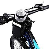 VLTAWA Fahrrad-Wasserflaschenhalter ohne Schrauben, Fahrradbecherhalter Lenker, Getränkehalter Käfige für Erwachsene und Kinder Fahrrad (1 Liter, isoliert,...
