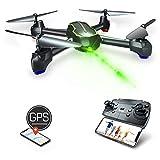 Asbww| GPS Drohne mit Kamera HD 1080p für Anfänger und Kinder - RC Quadrocopter Drohne FPV mit Live Übertragung / GPS Automatisch Rückkehr / 32 Min Flugzeit...