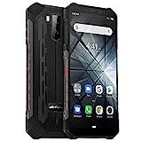 Ulefone Armor X3 Outdoor Handy 32GB Speicher, 5,5 Zoll, 5000mAh Akku, Android 9.0, IP68 Smartphone Wasserdicht Stoßfest Staubdicht, Kompass GPS WiFi Face ID -...