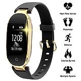 WOWGO Fitness Tracker mit Pulsmesser, Schlanke Sport Activity Tracker Watch, wasserdichte Schrittzähler Uhr mit Schlaf Monitor, Step Tracker für Kinder,...