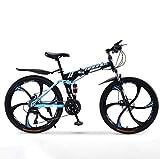 Chenbz Outdoor-Sport Mountainbike Falträder, 30Speed Doppelscheibenbremse Fully Antislip, Offroad Variable Speed Racing Bikes for Männer und...