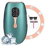 IPL Geräte Haarentfernung,Enow Laser Eis Kühlsystem Epilierer Mit 999,999 Lichtimpulse Haarentfernungsgerät, Dauerhafte Schmerzlose Ipl Haarentfernung für...