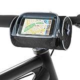Aujelly Fahrrad Lenkertasche Wasserdicht Fahrrad Rahmentasche Großer Kapazität Fahrradtasche mit Smartphone Touchscreen Fahrrad Handytasche Fahrradzubehör...