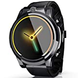 WQYRLJ 4G Männer Smart Watch 1.6Inch Display-Doppelkamera 3 GB + 32 GB Videoanruf Für Android 7.1 BT Global Band Scan-Code-Uhr