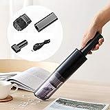 panthem Portable Handstaubsauger, 6000Pa USB Wiederaufladbar Akku Handstaubsauger Kabellos Autostaubsauger für Haus and Auto, 500G Leichtgewicht, Waschbarer...