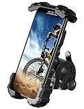 Lamicall Handyhalterung Fahrrad, Handyhalter Motorrad - Edelstahl Universal 360 Grad Drehung Outdoor Fahrrad Halter für Phone 11 Pro Max, Xs Max, XR, X, 8, 7,...