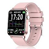Judneer Smartwatch, 1.4 Zoll Voll Touch-Farbdisplay Armbanduhr mit Pulsuhr Fitness Tracker, IP68 Wasserdicht Smart Watch Android IOS mit Schlafmonitor, Damen...