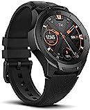 Ticwatch S2 Smartwatch, Wear OS von Google Fitness Uhr, für Outdoor-Abenteuer, 5 ATM wasserdicht und geeignet fürs Schwimmen, haltbar, kompatibel mit iPhone...