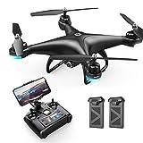 Holy Stone HS110D FPV Drohne mit 1080P Kamera HD WiFi Live Übertragung 120° Weitwinkel RC Quadrocopter ferngesteuert mit Höhenhaltung,Handy...