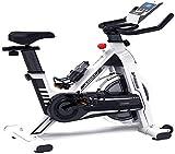TONG Start Spinning Bike Stille Indoor Heimtrainer Fitnessgeräte Multi-Funktions-elektronische Uhr unendliches Widerstand-System 128 * 51 * 113cm Uptodate...