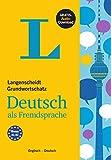 Langenscheidt Grundwortschatz Deutsch als Fremdsprache  - Buch mit Audio-Download: Englisch - Deutsch