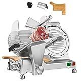 Befano Allesschneider, Schnittdicke 0-12mm, Mit Integriert Messerschärfer Schneidebrett Federklemme Handschuhe, Aufschnittmaschine Elektrische für Fleisch...