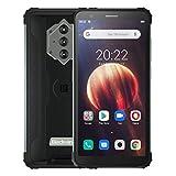 Blackview BV6600 Outdoor Smartphone ohne Vertrag, 8580mAh Akku (Rückwärtsladung), 5.7'' HD + IP68 & IP69K Wasserdichtes Stoßfestes Handy Android 10.0, Octa...