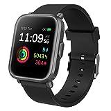 GRDE Smartwatch Bluetooth Fitness Tracker 1.3'' Voll Touchscreen Smartwatch Damen Herren 5ATM Wasserdicht Aktivitätstracker mit NEU Herzfrequenzmesser SpO2...