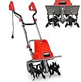 Elektro Bodenhacke (NEU) für effektive Bodenbearbeitung – 1500 Watt – 24 Messer – elektrische Gartenfräse – Gartenhacke – Kultivator – zum...
