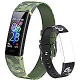 Dwfit Fitness Armband Kinder,Fitness Tracker mit Pulsmesser Fitness Uhr Kinder Aktivitätstracker Schrittzähler Smartwatch Sportuhr für Jungen Mädchen für...